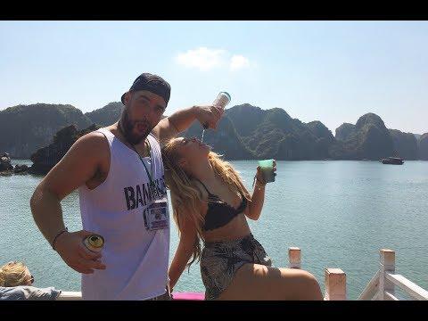 BACKPACKING VIETNAM! HALONG BAY CASTAWAY TOUR | JENNIFER GRACE