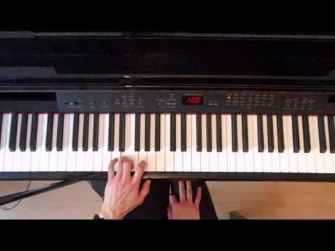 ABRSM Grade 2 Piano Exam Scales Piano tutorial ( slow demo)