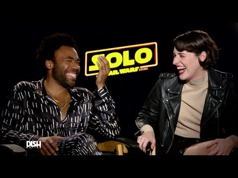 DONALD GLOVER & THE CAST OF 'SOLO: A STAR WARS STORY' REVEAL WHAT THEY LIKE TO DO SOLO