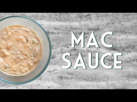 EASY BIG MAC SAUCE (Vegan)