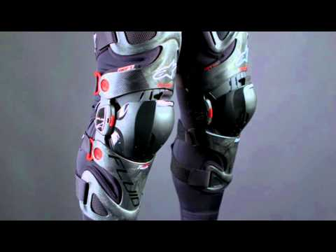 Alpinestars Fluid Tech Carbon Motocross Knee Brace Review