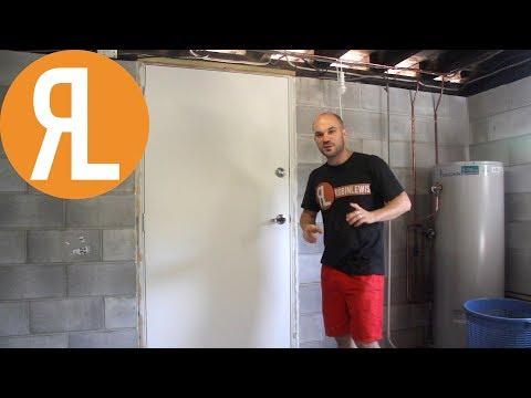 Installing A New Door For My Workshop, Part 2