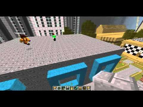 Let's Play Minecraft! #48 - Flat Roofs w/ AhoyItsAbSack
