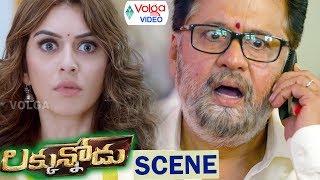 Luckkunnodu Movie Climax Scene | Luckkunnodu Movie Scenes | Manchu Vishnu, Hansika