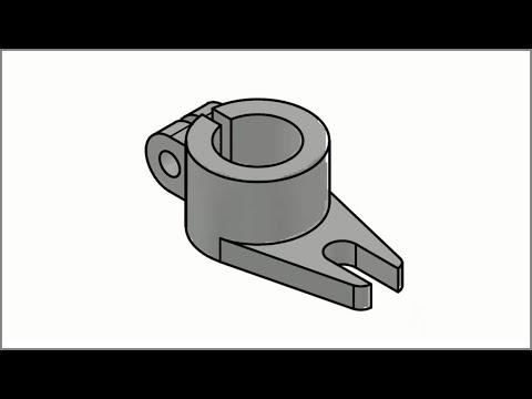 AutoCAD 3D Practice drawing
