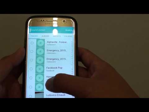 Samsung Galaxy S7: How to Set MP3 Song as Ringtone