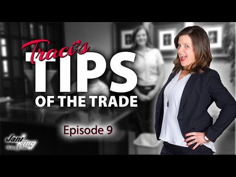 How to Tie a Trash Liner - Traci's Commercial Cleaning Tips of the Trade - Episode 9
