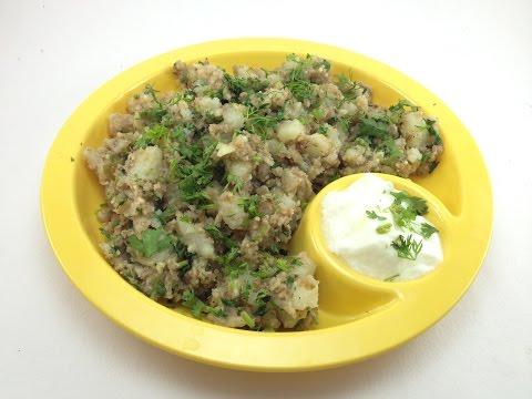Farali Shing Batata Khichadi For Upvas | Aloo Khichadi | Potato Peanut Khichadi | Cook Shook