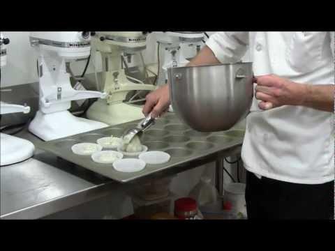 Making Lemon Poppy Seed Muffins