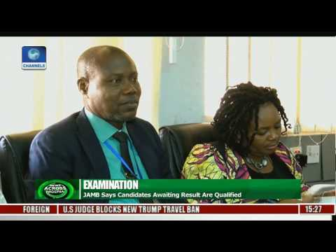 JAMB Says Candidates Awaiting Result Are Qualified