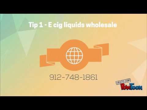5 Tips E Cigarette Wholesale