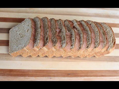 THE BEST 100% Whole Wheat Bread Recipe