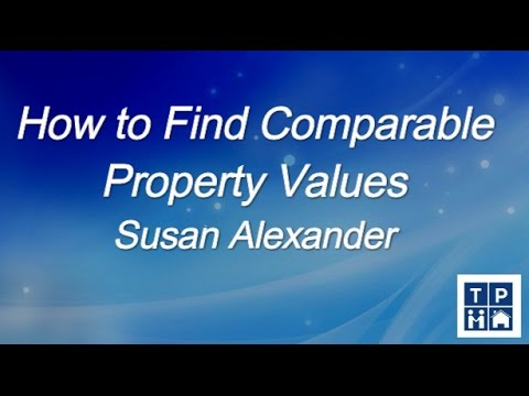 How to Find Comparable Property Values