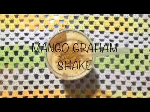 FOODGASM : MANGO GRAHAM SHAKE