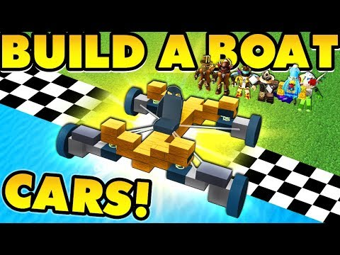 Build a boat CARS UPDATE! (Wheels, Springs, and MORE!)