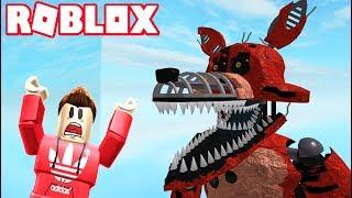 ESCAPE THE EVIL NIGHTMARE ANIMATRONICS OBBY! (Roblox Adventures)
