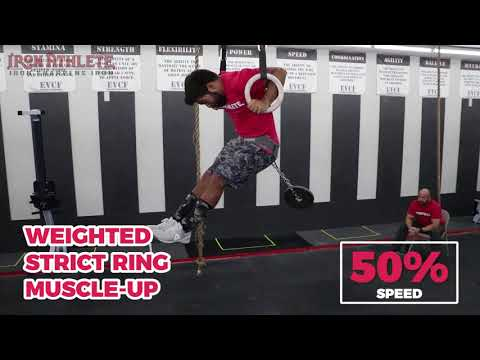 Weighted Strict Ring Muscle-up