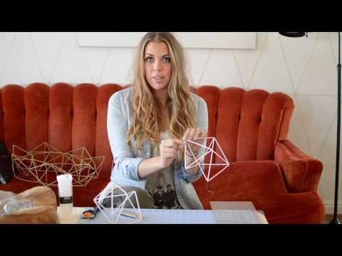 How To Make A Geometric Wreath