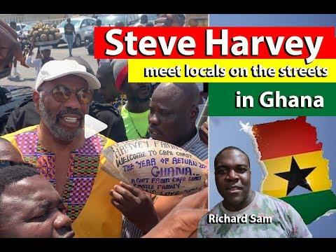 Xxx Mp4 Steve Harvey Meet The Locals On The Street In Ghana 3gp Sex