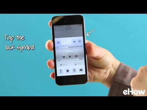 Lock (or Unlock) Your iPhone's Orientation