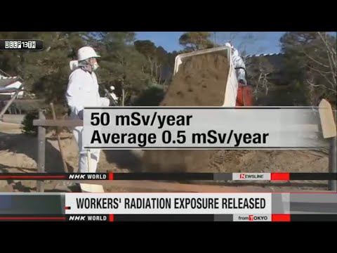 Nuclear Watch: Fukushima Clean-up workers' radiation exposure released 4/16/2015