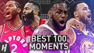 TOP 100 MOMENTS OF THE 2018-19 NBA SEASON!!!
