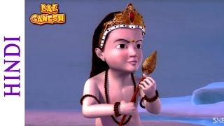 Bal Ganesh - Karthikeya Defeats Tarkasur - Children Cartoon Movie