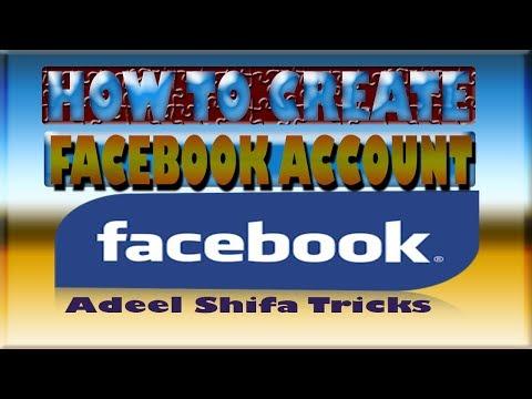 how to creat facebook account so easily so simple adeel shifa tricks hindi/urdu