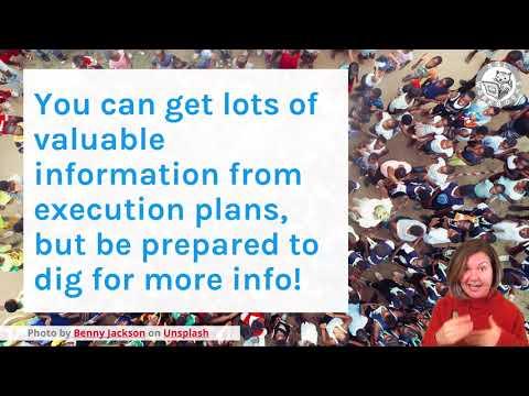 How Do I Analyze a SQL Server Execution Plan? (Dear SQL DBA Episode 50)