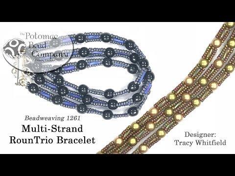 Make a Multi-Strand RounTrio Bracelet