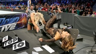 Female Superstar table crashes: WWE Top 10