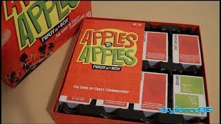 Apples to Apples Game (2017 Edition) Unboxing