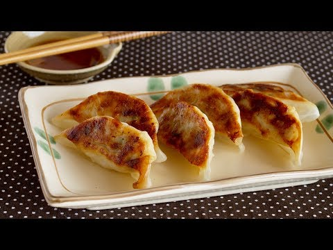 How to Make Gyoza (Japanese Fried Dumplings: Wrappers, Filling, and Sauce Recipe) | OCHIKERON