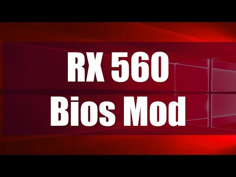 RX560 Bios Mod - (Very Easy) How To Guide