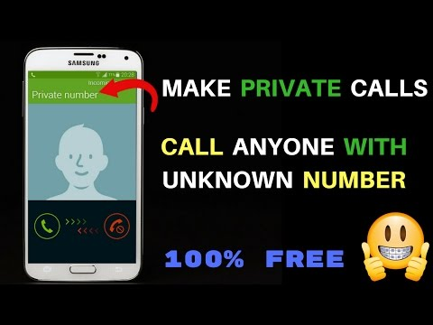 How To Call Without Showing Mobile Phone Number | Call With Private/Unknown Number In Urdu Hindi