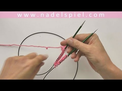 Knitting Socks with eliZZZa #03 * How to knit socks with one circular needle and magic loop