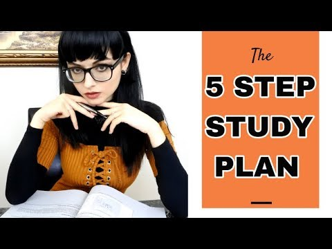 The 5 Step Study Plan | How to Study Effectively