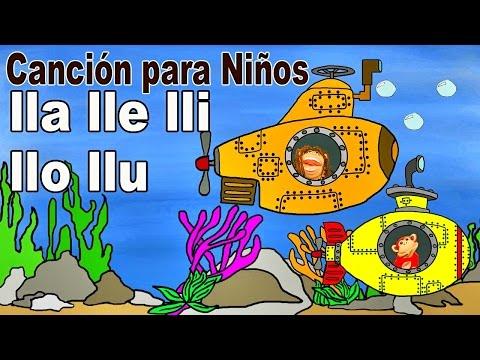 Xxx Mp4 Canción Lla Lle Lli Llo Llu El Mono Sílabo Videos Infantiles Educación Para Niños 3gp Sex