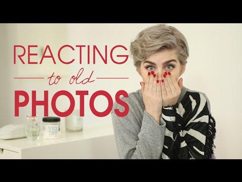 Reacting To Old Photos | Raquel Mendes