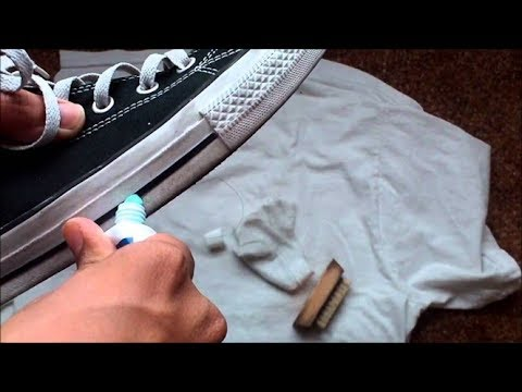 How to remove oil, water, jean stains from suede shoes   Fast at home