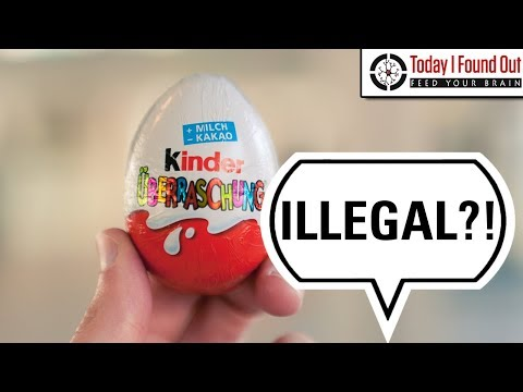 Why are Kinder Eggs Illegal in the USA?