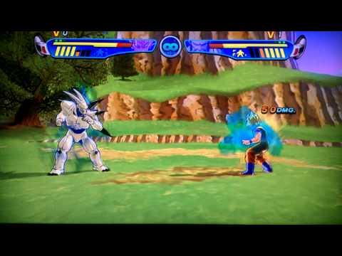 Goku vs Omega Shenron DBZ Budokai HD Collection