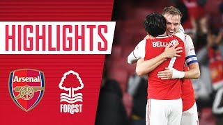 Holding, Tierney and Bellerin are back! | Arsenal 5-0 Nottingham Forest | Goals and highlights