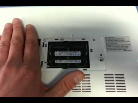 Toshiba Satellite L40-A Hard drive replacement