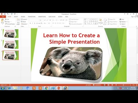 How to Create Powerpoint Presentation in Hindi