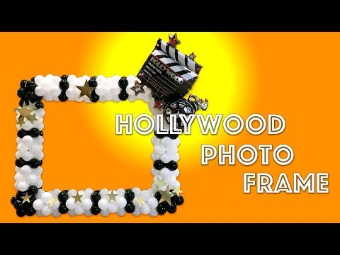 Hollywood Balloon Photo Frame