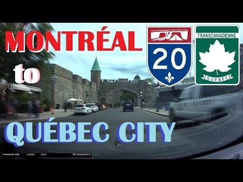 Time Lapse Drive: Montréal to Québec City, La Belle Province of Quebec