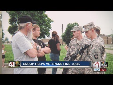Group helps veterans find jobs
