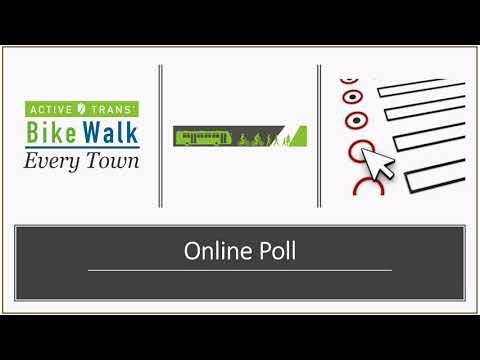 Bike Walk Every Town -- Online Suburban Advocacy Summit