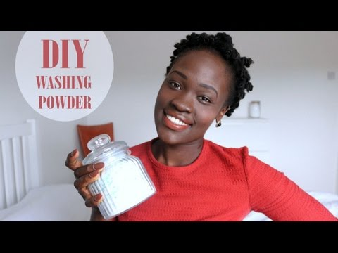 D.I.Y   Washing Powder - Easy Laundry Detergent Recipe - (Ingredients Available in the U.K. too!)